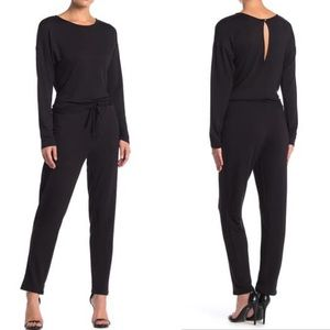 Threads and states black knit jumpsuit